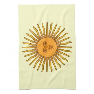 Sol de Mayo キッチンタオル