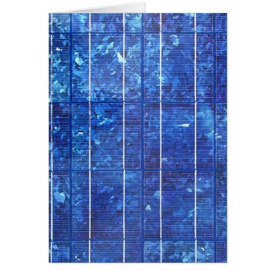 Solar panel カード