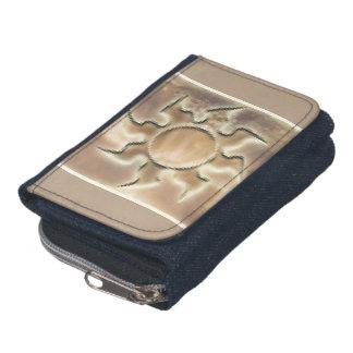 Solaris™のデニムの財布w/Coinの財布 ウォレット
