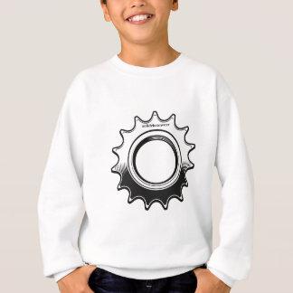 solidchainwearによって設計されている固定ギアのコグ スウェットシャツ