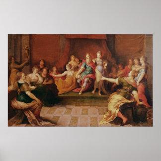 Solomonおよび彼の女性 ポスター