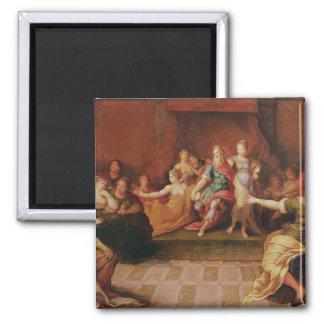 Solomonおよび彼の女性 マグネット