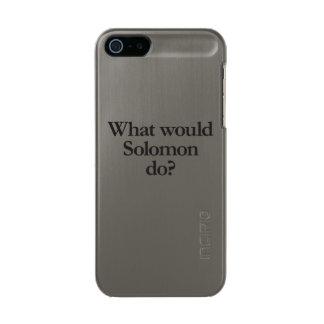 solomonする何が メタリックiPhone SE/5/5sケース