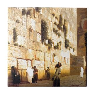 Solomonの壁、ジーンレオンGerome著エルサレム タイル
