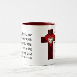 Solomonの1:10の歌 ツートーンマグカップ