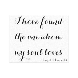 Solomonの3:4の歌 キャンバスプリント