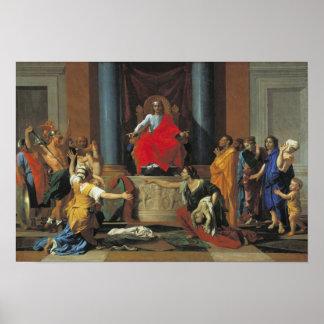 Solomon 1649年の判断 ポスター