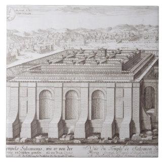 Solomon、「e-i Entwurfからのエルサレムの寺院、 タイル