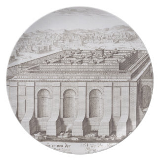 Solomon、「e-i Entwurfからのエルサレムの寺院、 プレート