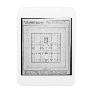 Solomon、「Enからのエルサレムの寺院の計画、 マグネット