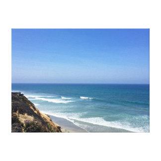Solonaのビーチ キャンバスプリント
