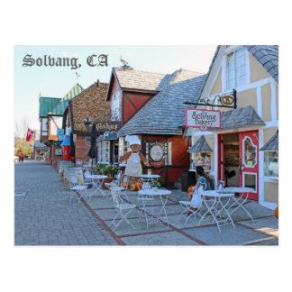 Solvangの素晴らしい郵便はがき! ポストカード