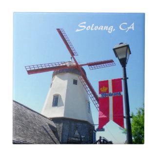 Solvangの美しいタイル! タイル