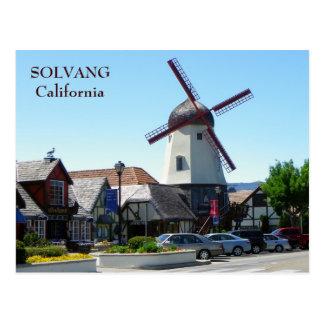 Solvangの美しい郵便はがき! ポストカード
