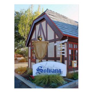 Solvangの郵便はがき! ポストカード