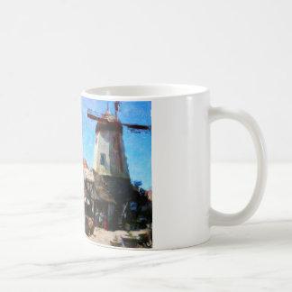 Solvangの風車 コーヒーマグカップ