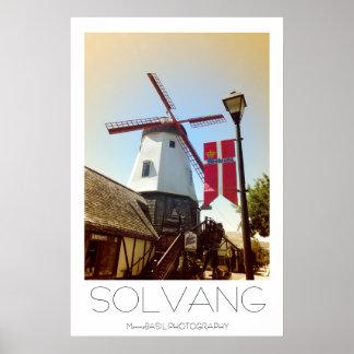 Solvang美しいポスター! ポスター