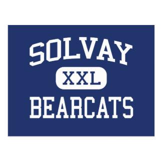 Solvayの闘士中間のシラキュースニューヨーク ポストカード