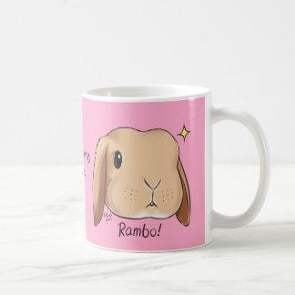 Somebunnyはマグのピンク愛します コーヒーマグカップ