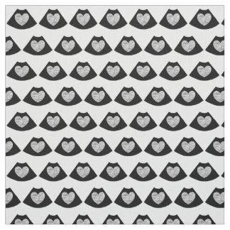 Sonographyのハートの綿織物 ファブリック
