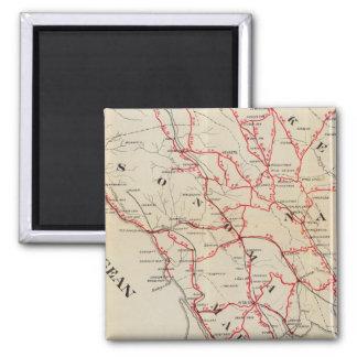Sonoma、マリン、湖およびNapa郡 マグネット