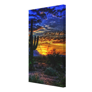 sonoran desert canvas print キャンバスプリント