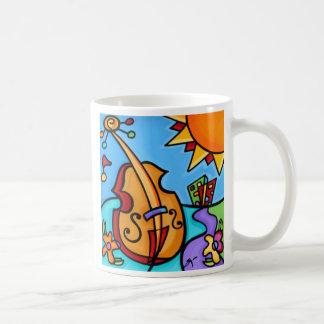 Sonyaパ- City1-のマグの熱いチェロ コーヒーマグカップ