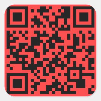 SOPAサポータQRコードステッカー スクエアシール