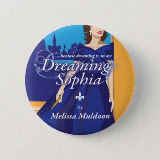 Sophiaの本ボタンを夢を見ること 5.7cm 丸型バッジ