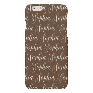 Sophia -モダンな書道の名前のデザイン