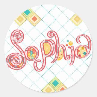 Sophia ラウンドシール