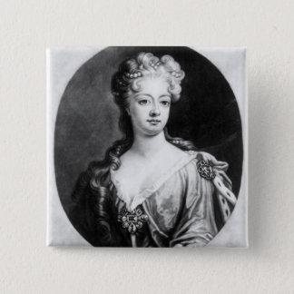 Sophia Dorothea、プロシアの女王 5.1cm 正方形バッジ