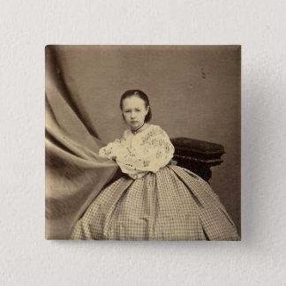 Sophia Perovskayaのポートレート 5.1cm 正方形バッジ