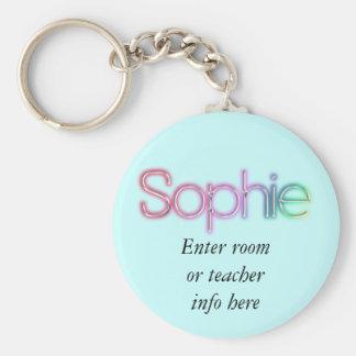 Sophieの名札のキーホルダー キーホルダー