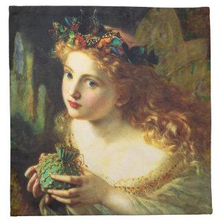 Sophieアンダーソンの妖精のナプキン ナプキンクロス