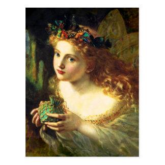 Sophieアンダーソンの妖精の郵便はがき ポストカード