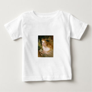 Sophieアンダーソン著Cludia ベビーTシャツ