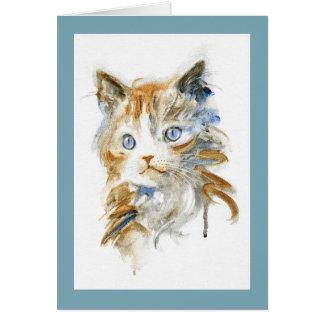 Sophie猫の挨拶状 グリーティングカード