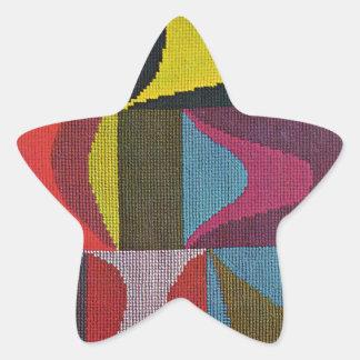 Sophie Taeuber Arp著基本的な型枠 星シール