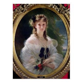 Sophie Troubetskoyの伯爵婦人のポートレートの ポストカード