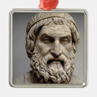 Sophoclesのポートレートのバスト メタルオーナメント