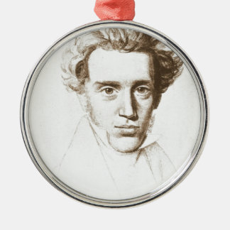 Søren Kierkegaard - Existentialistの哲学者 メタルオーナメント