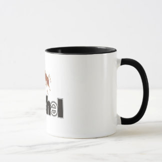 Soshelのロゴのコーヒー・マグ マグカップ