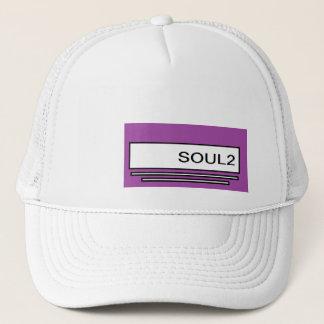 Soul2紫色 キャップ