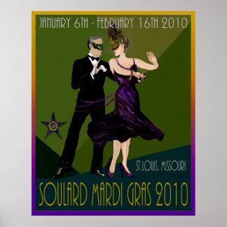 Soulardの謝肉祭2010年 ポスター