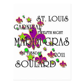 Soulardの謝肉祭2011年 ポストカード