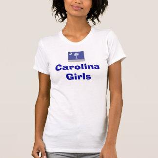 South-Carolina-flag_tのカロライナの女の子 Tシャツ