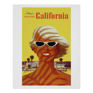 Southern California (Vintage Ads) プリント