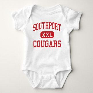 Southport -クーガー-中間-インディアナポリス ベビーボディスーツ