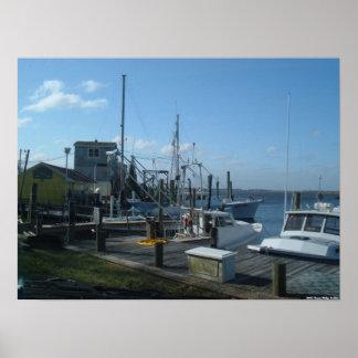 Southport、ノースカロライナ-漁船(2005年) ポスター